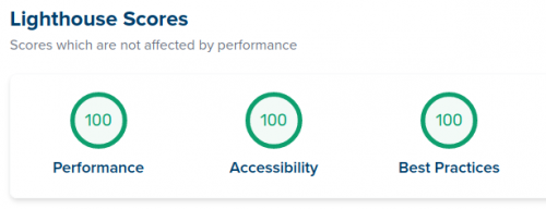 Screenshot from lighthouse-metrics.com