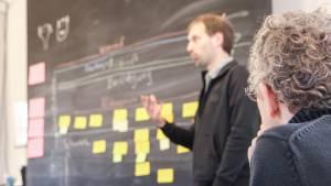 Sebastian Greger, running a GDPR workshop